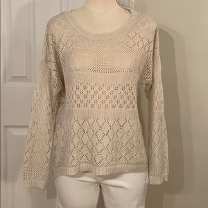 HIGH LOW DROPPED SHOULDERS SWEATER